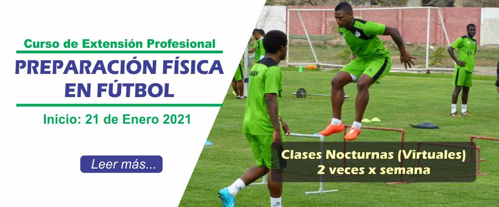 Preparación Física en Fútbol 2021-1