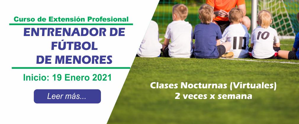Entrenador de Menores 2021-1
